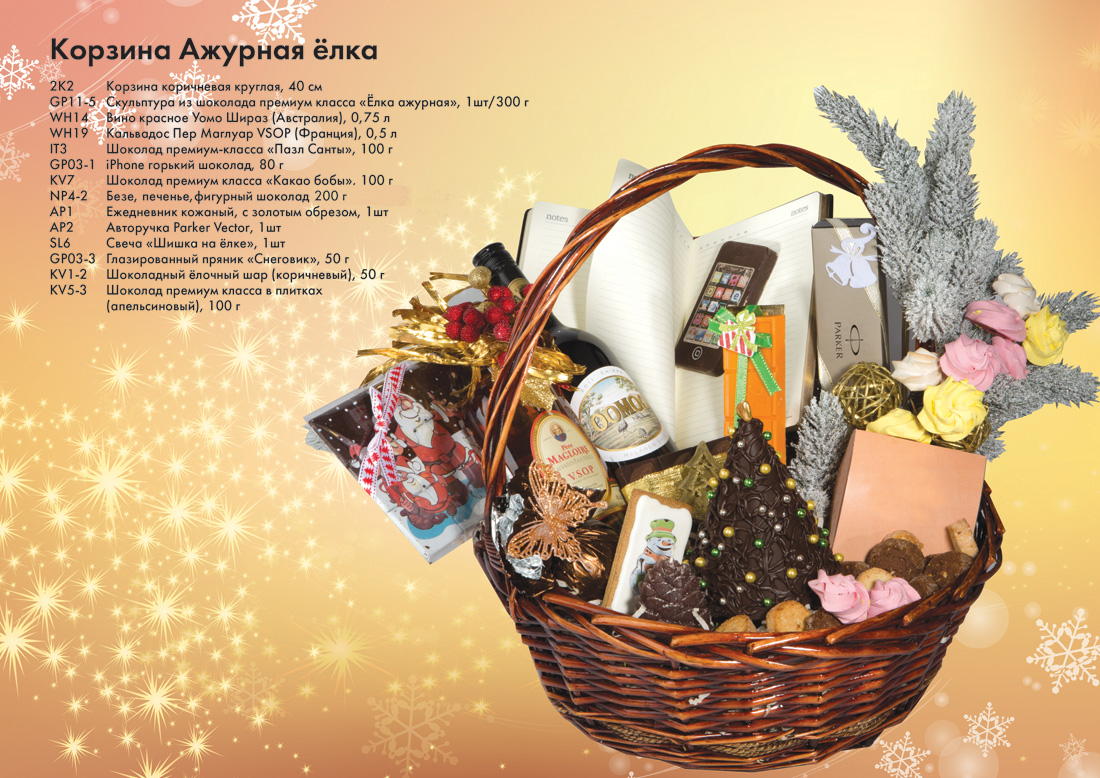 Эксклюзивные корпоративные подарки на новый год